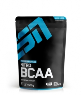 ESN Nitro BCAA Powder, 500g Raspberry Iced-Tea