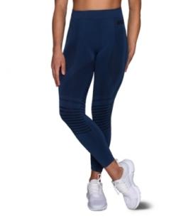 ESN Premium Seamless Leggings, Blue M-L