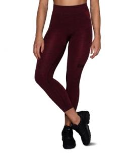 ESN Premium Seamless Leggings, Red Melange S-M