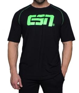 ESN Premium T-Shirt, Black-Neon Green 2XL