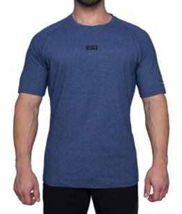 ESN Premium T-Shirt, Blue Melange S