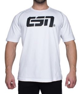 ESN Premium T-Shirt, White-Black 3XL