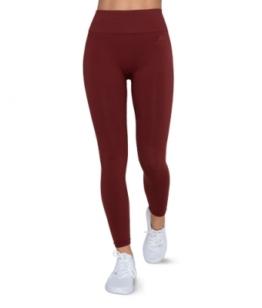 ESN Pure Seamless Leggings, Dark Red XS-S
