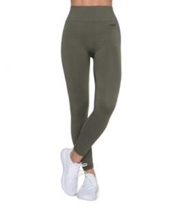 ESN Pure Seamless Leggings, Khaki XS-S