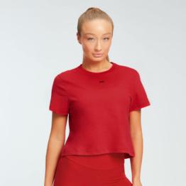 MP Damen Essentials Crop T-Shirt - Danger - XXS
