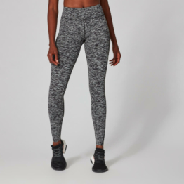 MP Damen Power Leggings - Black Space Dye - S