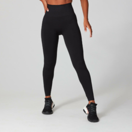 MP Damen Shape Seamless Ultra Leggings - Schwarz - XXL