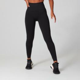 MP Damen Shape Seamless Ultra Leggings - Schwarz - XXS