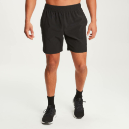 MP Herren Essentials Woven Training Shorts - Schwarz - XXL