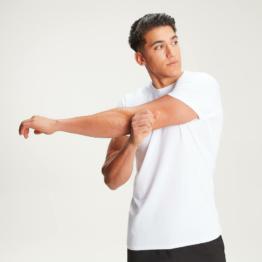 MP Herren Luxe Classic Crew T-Shirt - Weiß - M