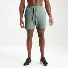 MP Men's Essential Sweat Shorts - Washed Green - XS