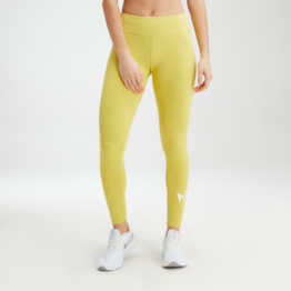 MP Women's Essentials Training Leggings - Washed Yellow - S