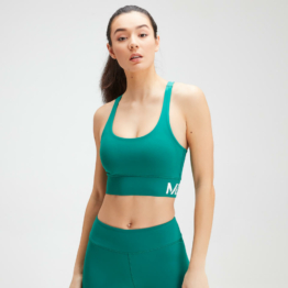 MP Women's Essentials Training Sports Bra - Energy Green - XXL
