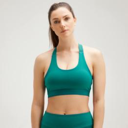 MP Women's Power Cross Back Sports Bra - Energy Green - XL
