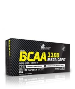 Olimp BCAA Mega Caps Blister, 120 Kaps.