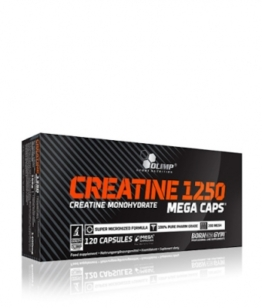 Olimp Creatine Mega Caps Blister, 120 Kaps.