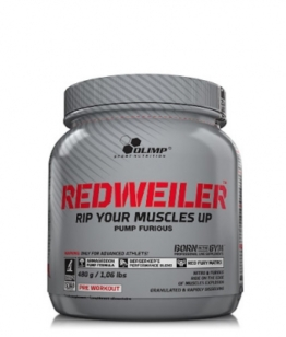 Olimp RedWeiler, 480g Red Punch