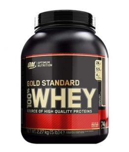 Optimum Nutrition 100% Whey Protein, 2270g Cookies N Cream