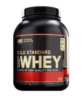 Optimum Nutrition 100% Whey Protein, 2270g French Vanilla Cream