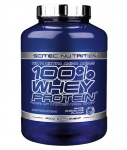 Scitec Nutrition 100% Whey Protein, 2350g Vanilla