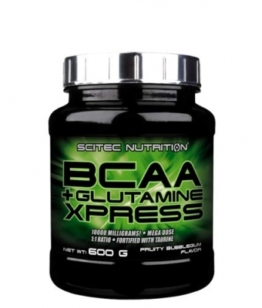 Scitec Nutrition BCAA + Glutamine Xpress, 600g Bubble Gum