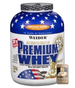 Weider Premium Whey, 2300g Strawberry-Vanilla
